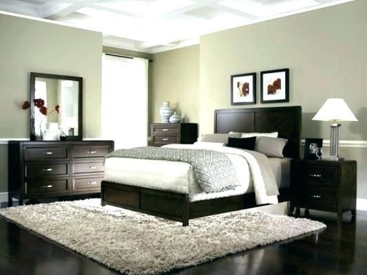 Bedroom With Dark Furniture Carpet Decorating With Dark Furniture