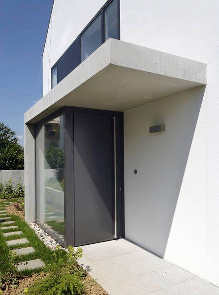 Eingangsbereich außen modern  Eingangsbereich | haustuere_eingang | Pinterest | Eingang, Vordach ...