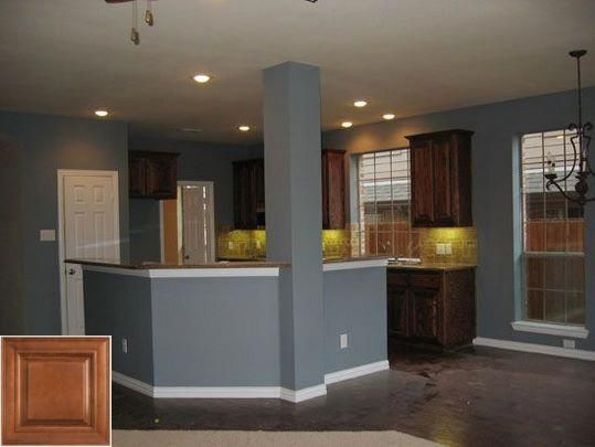 Merits Of Cream And Oak Display Cabinets Oakkitchencabinets Kitchencabinets Kitchen Wall Colors Kitchen Paint Colors Kitchen Paint Colors With Cherry