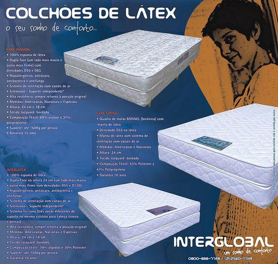 Flyer Promocional Linha de Colchões de Látex - Interglobal - frente | Flickr - Photo Sharing!