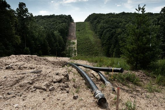 New and protracted battles in the fracking war are breaking out near the…