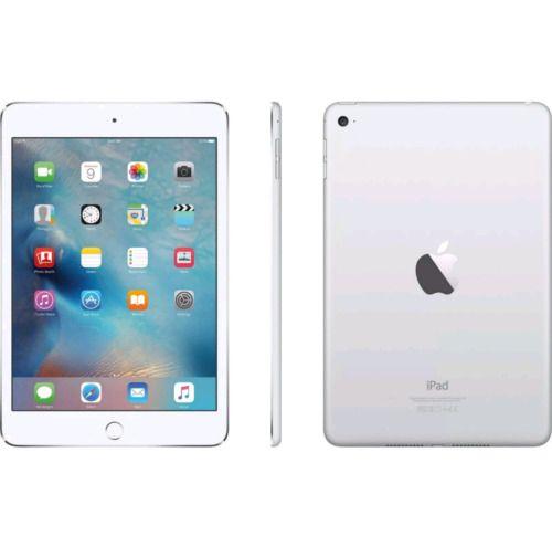 Apple Ipad Mini 4 128gb Wi Fi Gps Tablet 7 9 Retina Display Silver New 2018 Apple Ipad Mini Ipad Mini Ipad Apps