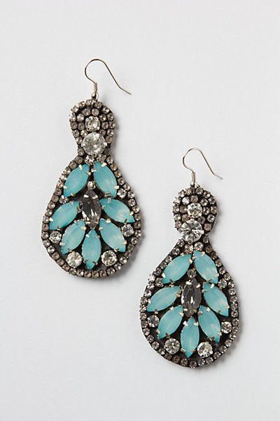 Mint Leaf Chandeliers from Anthropologie