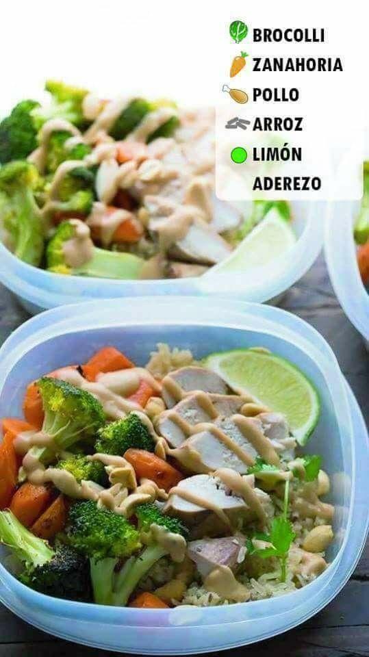 Comidas saludables para bajar de peso recetas