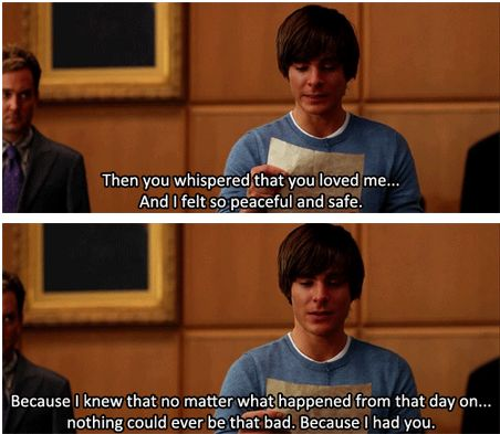 17 again <3 this part makes me cry