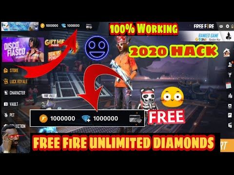 Free Fire Free Unlimited Diamonds Hack 2020 110 Working How To