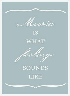 Music. words-to-live-by