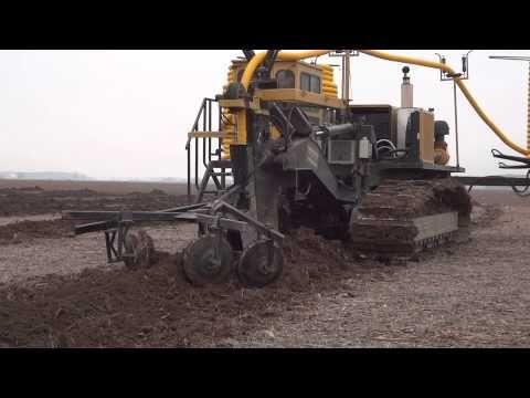 2012 wolfe 540 drainage plow youtube