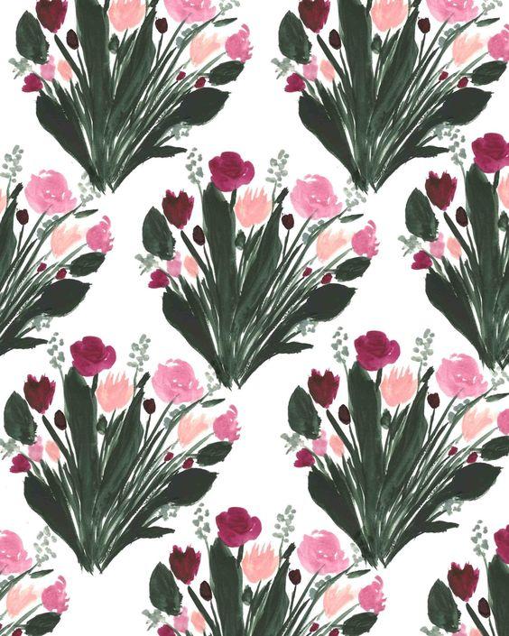 Bouquet Print V.