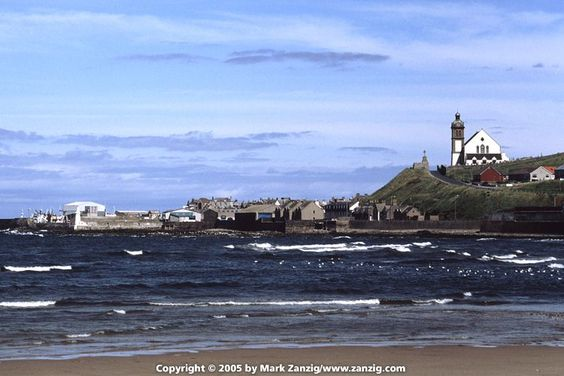 A great view of Macduff, Banffshire