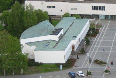 Библиотека в Сеняйоки, Аалто