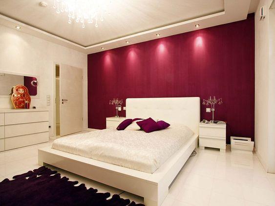 wandgestaltung wohnzimmer mit tapete Beispiele Der Malerbetrieb - schlafzimmer wandgestaltung beispiele