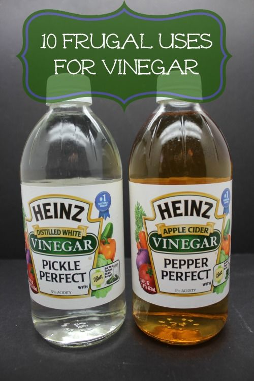 Frugal Uses for Vinegar 10 Frugal Uses for Vinegar