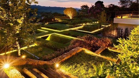 Jardim em São Paulo escolhido o mais lindo do mundo.
