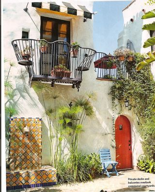 Balconies spanish revival and spanish on pinterest for Balcony in spanish