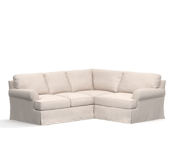 Townsend Roll Arm Sectional Slipcovers Only Sectional Slipcover Slipcovers Slipcovers For Chairs