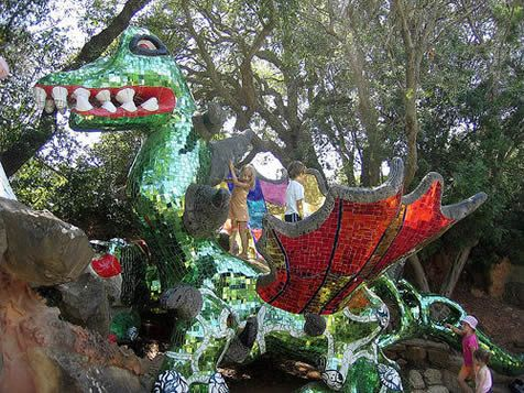 Fantasy Garden Dragon Niki De Saint Phalle   For The Home   Pinterest    Mosaics And Tarot