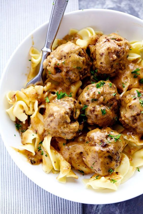 The Best Swedish Meatballs are smothered inthe most amazing rich and creamy gravy. The meatballs are packed with such delicious flavor. You will quickly agree these are the BEST you have ever had! The countdown until school starts is happening at our house. We have been SO busy getting ready. My oldest is starting Jr …