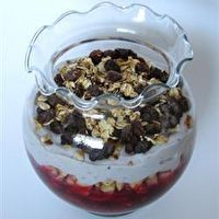 Fruity Tofu Parfait with Granola by Allrecipes | tofu | Pinterest ...