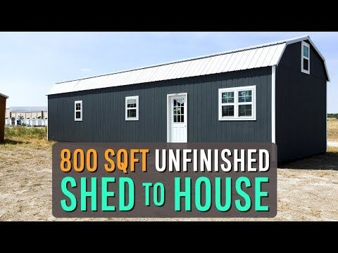 Beau And Kelly Brotherton With Better Together Life Are Converting A Woodtex Shed Into A Tiny House They Decided That The Lincoln In A 1 In 2020 Shed Shed Homes House