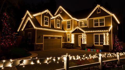 Solar Powered Fairy Lights Christmas House Lights White Christmas Lights Christmas Lights Outside