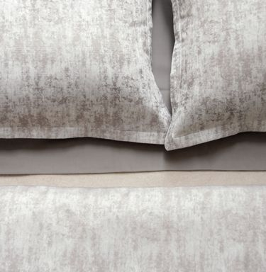Leo Brown and Grey Jacquard Sheets