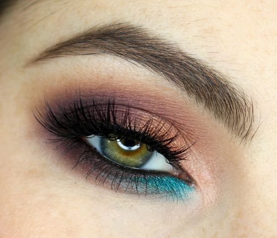 Taupe, Rose Gold & Turquoise Tutorial