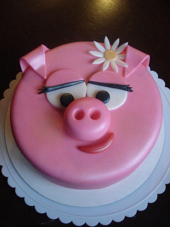 Pig cake: