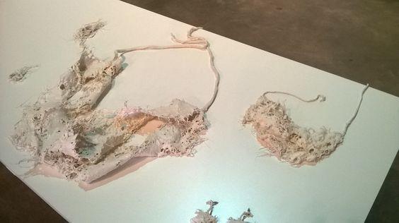 Rafael Luis Alvarez - piezas de la coleccion KOSMOS expuestas en  Viste Rosario (2do premio (coleccion KOSMOS))