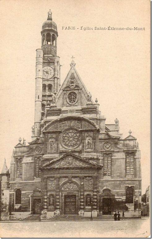 L'Eglise Saint-Etienne du Mont