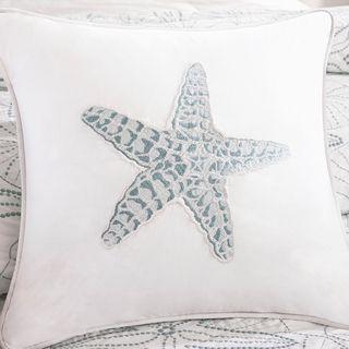 Harbor House Maya Bay Cotton Square Throw Pillow