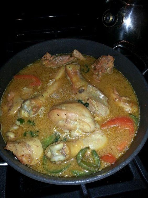 """Puerto rican """"arroz con pollo"""""""