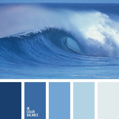 marine refreshing palette smooth color transitions blue