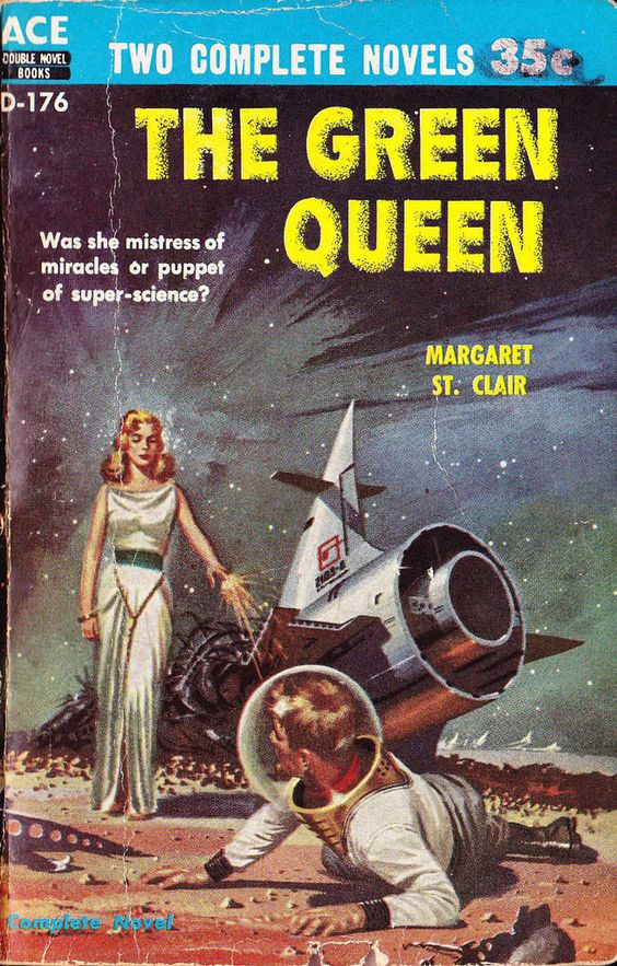 Modern Sci Fi Book Covers ~ Amazing vintage sci fi magazine and book cover art by