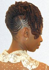 Marvelous Updo Natural Hairstyles And Twists On Pinterest Short Hairstyles Gunalazisus