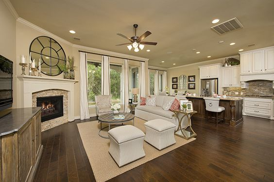 Perry Homes The Woodlands Creekside Park Model Townhome Design 2255 In The Woodlands Tx