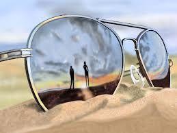 Sunglasses beach reflection | Reflections | Pinterest ...