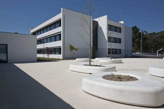 Escola Secundária JOSÉ MACEDO FRAGATEIRO / Atelier d'Arquitectura J. A. Lopes da Costa