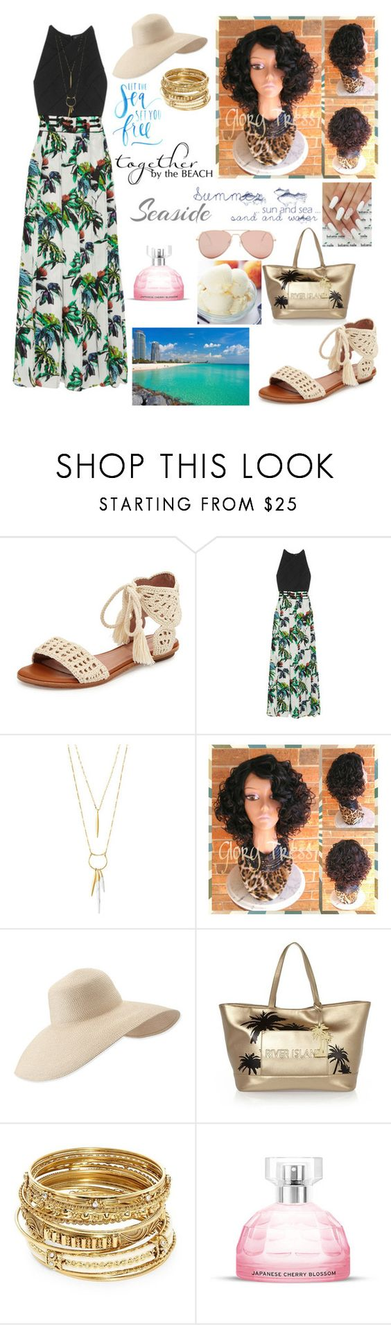 """""""Untitled #1126"""" by feb16 ❤ liked on Polyvore featuring Joie, Proenza Schouler, Stella & Dot, Eric Javits, River Island, ABS by Allen Schwartz and Betsey Johnson"""