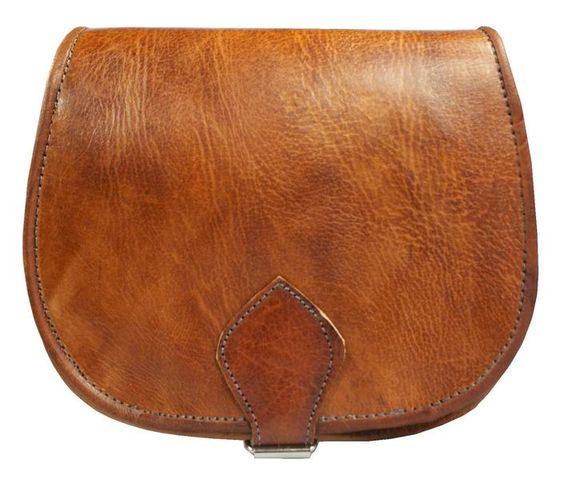 Sac à bandoulière sac à main en cuir véritable de Casami sur DaWanda.com