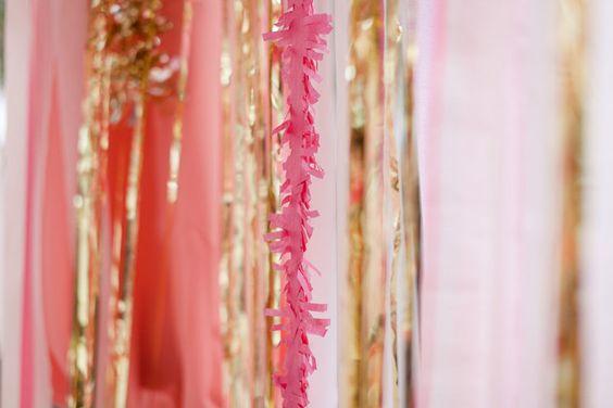 pink and metallic