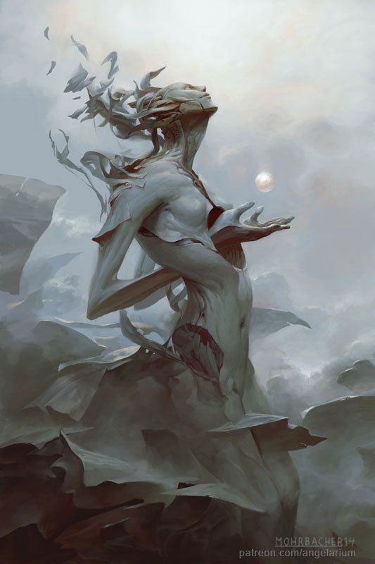 Binah, Peter Mohrbacher on ArtStation at http://www.artstation.com/artwork/binah: