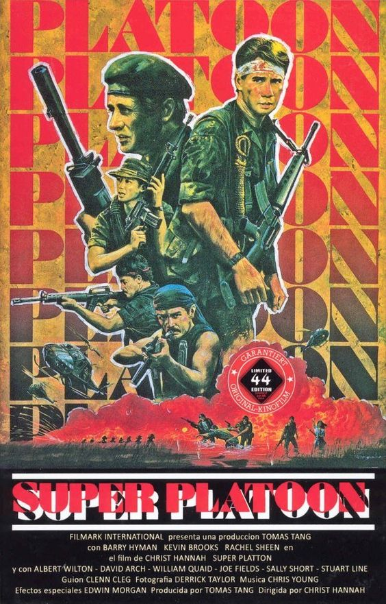 Super Platoon German VHS (Godfrey Ho, 1987)