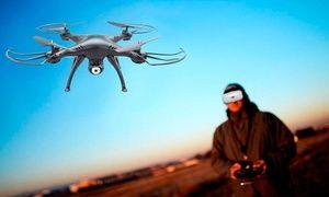 Drone T-Series T20VR + lentes de realidad virtual