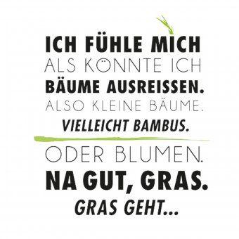 #design3000 Statement-Poster Ich könnte Bäume ausreißen.