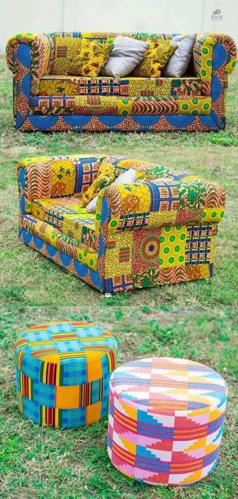 Chair Covers African Inspired Decor African Print African Decor