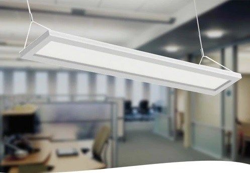 Best Lighting For Office Design Superior Lighting Hanging Panel Led Light Superior Lighting With Images Led Office Lighting Office Lighting Design Office Lighting Ceiling