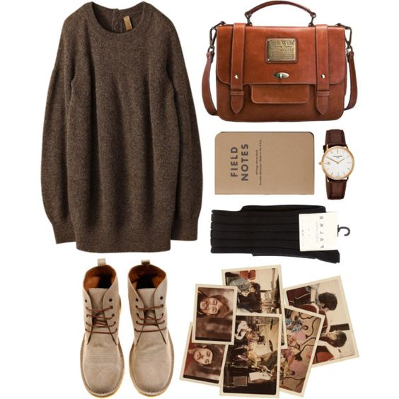 Untitled by hanaglatison on Polyvore featuring Iliann Loeb, Falke, ADAM, Jack Wills and Frédérique Constant