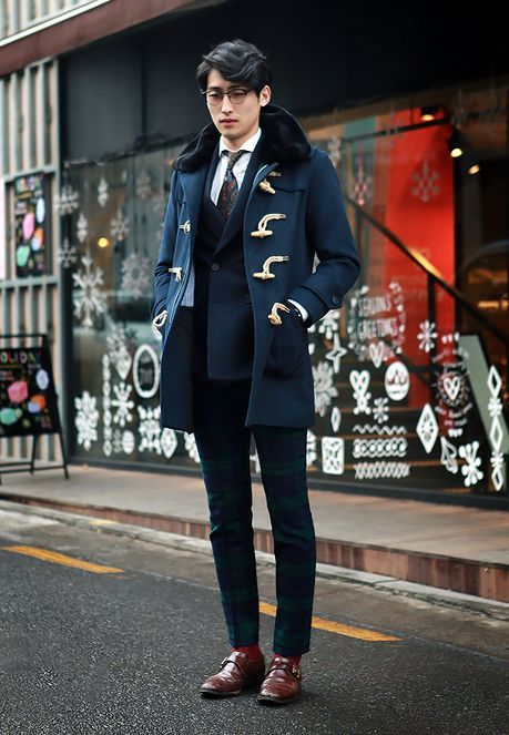 Duffle Coat for Men - Men's Winter Coat Styles - He Spoke Style
