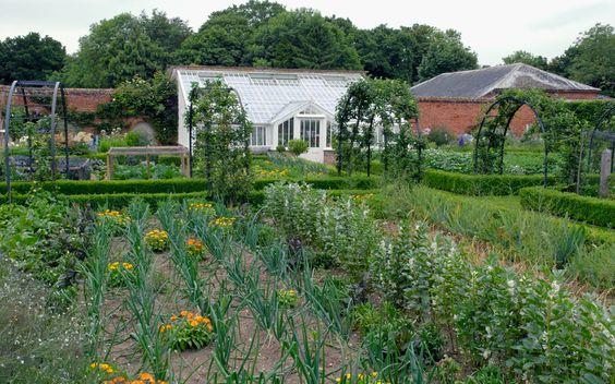 Veg Gardens Walled Gardens Edible Gardens Kitchen Gardens Norfolk Arne